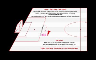 Challenge 4: 10 Ball Shooting Challenge